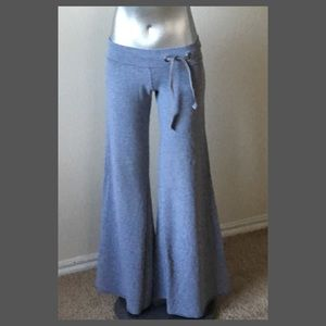Lucky Brand Wide Leg Low Rise Lounge Pants